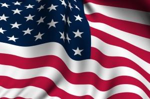 Rendered American Flag